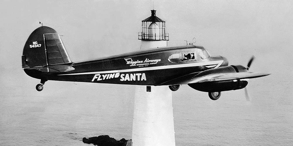 BOSTON LIGHT + Cessna T-50- 1947a